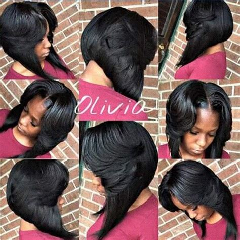 layered bob with middle part middle part layered bob www pixshark com images