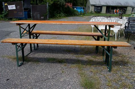 german beer bench german beer hall table and benches at 1stdibs