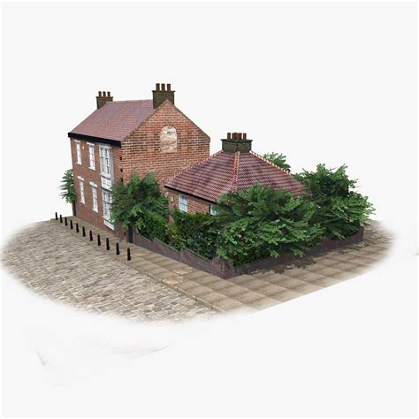 who wrote brick house london brick house 3d model game ready max obj 3ds