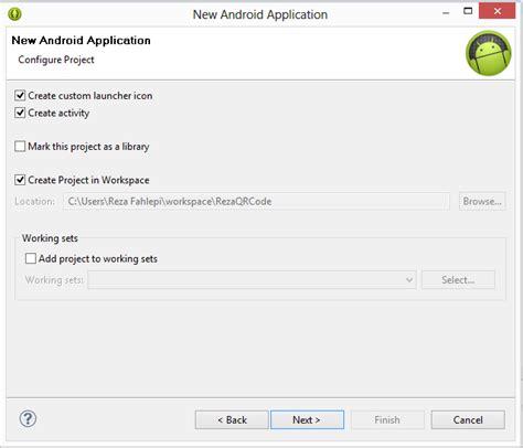 membuat qr code generator reza fahlepi program android untuk membuat qr code
