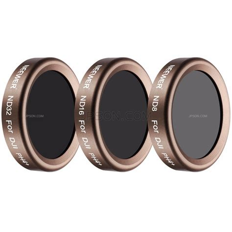 Sale Dji Phantom 4pro 4adv Nd32 Lens Filter neewer 3 pieces lens filter kitfor dji phantom 4 pro multi coated high definition glass and