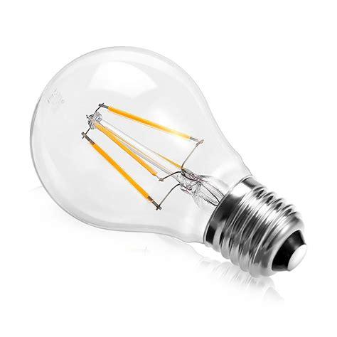 e27 led light bulb 4w led warm white filament e27 light bulb