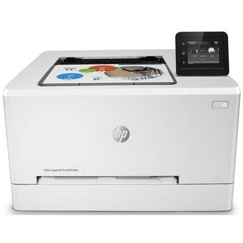 staples color laser printer hp laserjet pro m254dw colour laser printer wireless a4