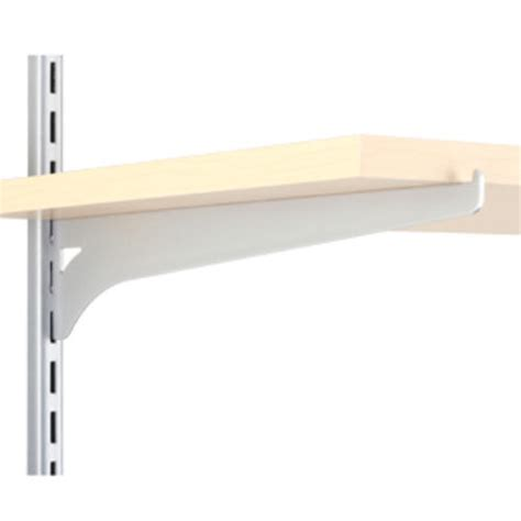 Shelf Track by 12 Quot Platinum Single Track Wood Shelf Bracket At Menards 174