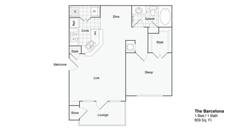 Two Bedroom Apartments In Atlanta by Two Bedroom Apartments In Atlanta Ga The Artisan Luxury