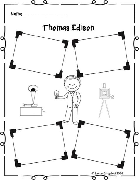 inventor biography graphic organizer biography inventors and inventions with reading passage