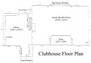 clubhouse floor plans three garden club clubhouse rental