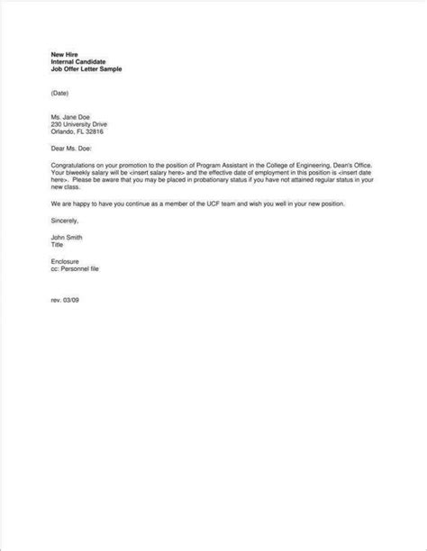 promotion announcement letters premium templates