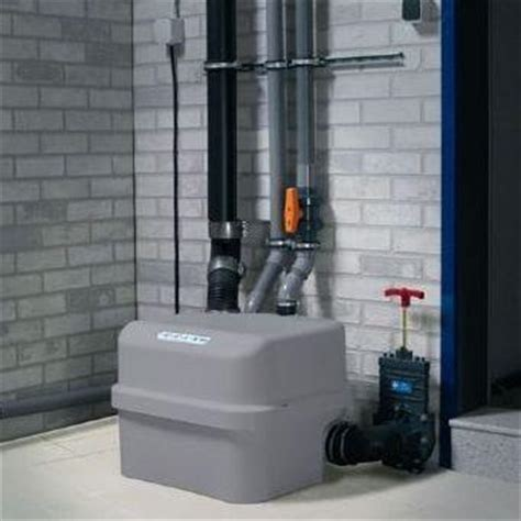 grinder pump for basement bathroom saniflo sanicubic 2 grinding pump saniflo depot