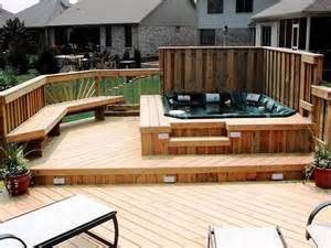 Pictures Of Patio Decks Best 25 Tub Deck Ideas On Pinterest Tub Patio