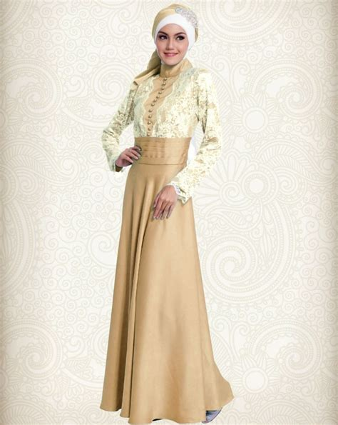 Gamis Abaya Shiny Gold 10 best images about gamis pesta modern on models and coral aqua