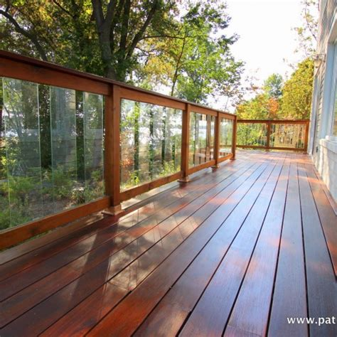 Tempered Glass Railing deck with tempered glass railing archives patios et cl 244 tures beaulieu
