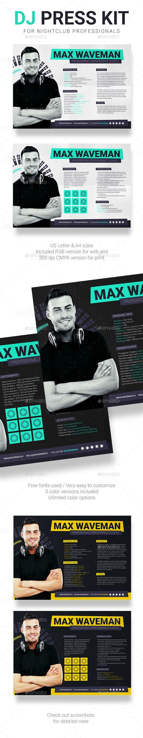 dj rider template 1000 images about dj press kit and dj resume templates on