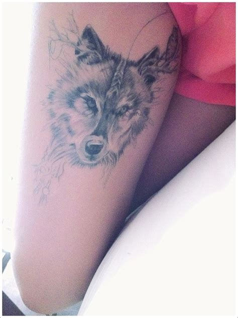 tattoo girl and wolf 101 meaningful wolf tattoo designs