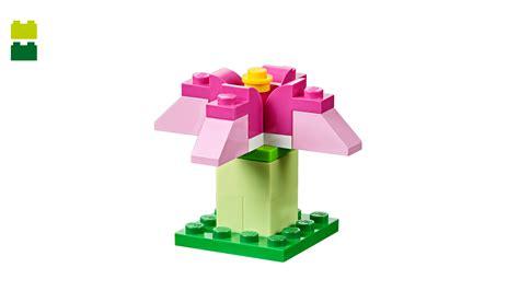 Lego Plant Lego Flower Set Pink pink flower lego 174 classic