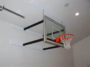 ceiling mounted basketball hoops indoor hoops sportgames