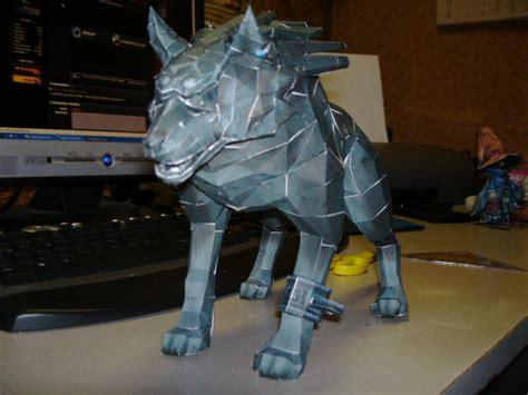 Wolf Link Papercraft - papercraft wolf link 2 by esteban1988 on deviantart