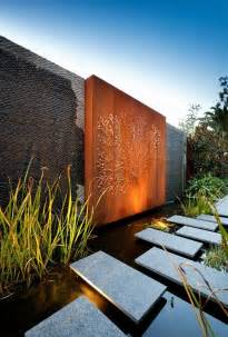 Garden Feature Wall Ideas Stunning Australian Home Showcasing Clean Lines Gardens Interiordecoration And Feature
