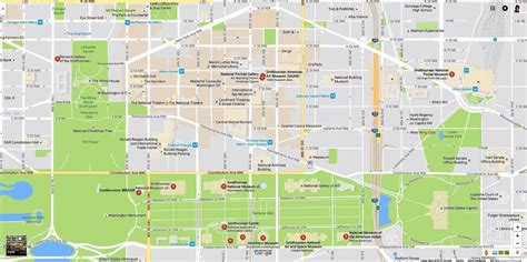 washington dc map museum smithsonian museums map and directions