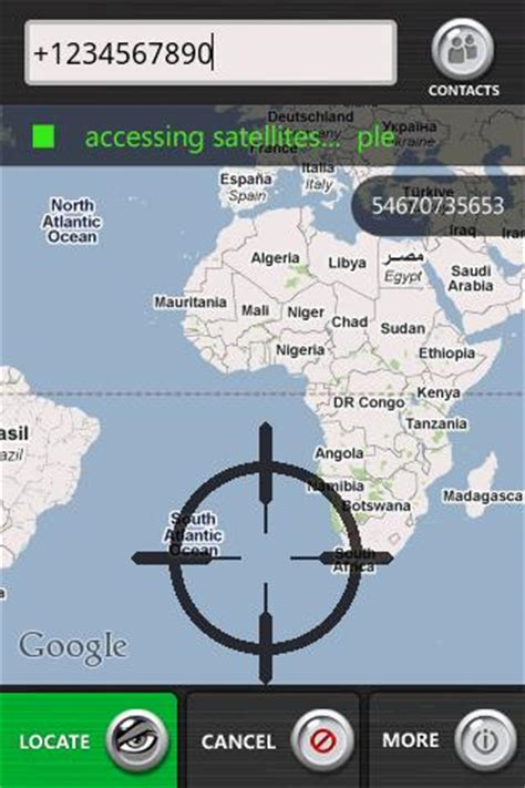 Mobile Phone Location Tracker By Number Cell Phone Tracker Free Android App Android Freeware