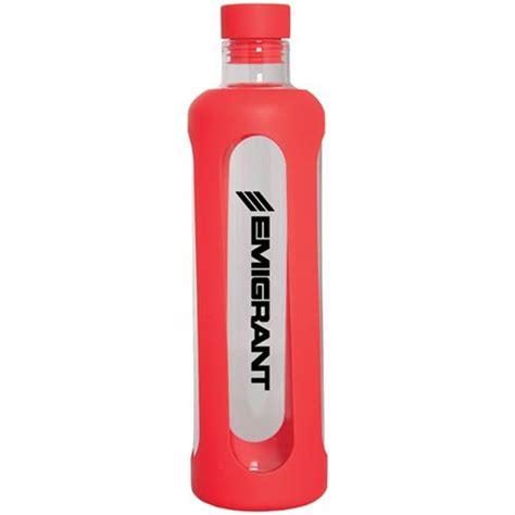 Glass Water Bottle With glass water bottle with silicone sleeve 20 oz