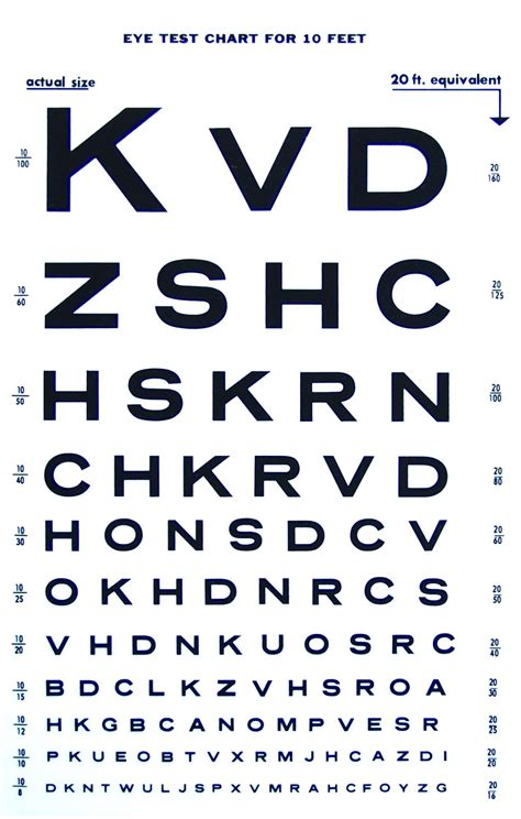 printable eye acuity chart printable snellen charts activity shelter