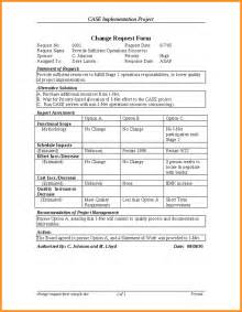change template 9 change request sle cook resume