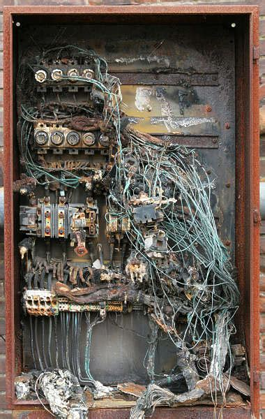 fusebox  background texture electric box