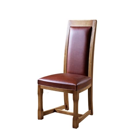 Choice Furniture by Chatsworth Leather Dining Chair Choice Furniture