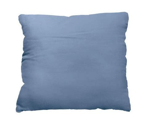 qvc bed pillows sure fit cotton duck 17 quot pillows set of 2 h157463