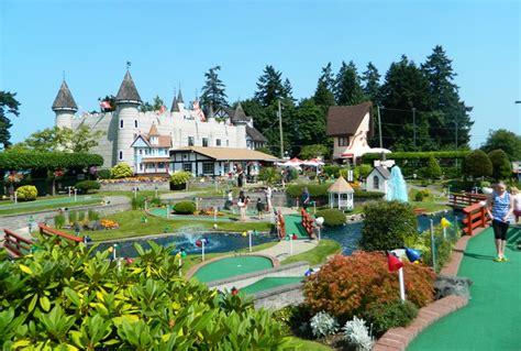 Mini Golf, RV Park, Amusement Park, Family Vacation, Parksville, Vancouver Island   Paradise Fun