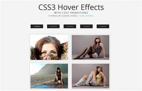 css3 hover link effects designmodo 50 useful css3 tutorials to enhance your skills