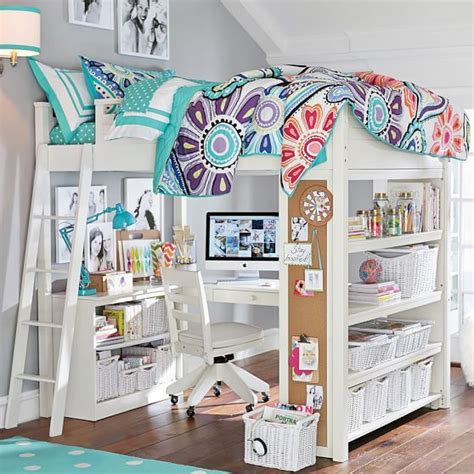 pb teen loft bed sleep study 174 loft pbteen 71 quot wide x 79 5 quot long x 73