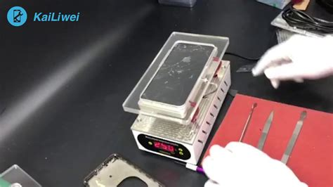 back glass remove machine for iphone 8 8 plus x back side glass separating