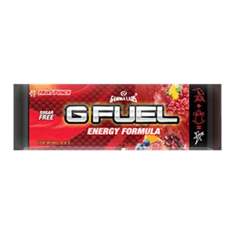 g fuel fruit punch g fuel sugar free caffeinated fruit punch gaming energy