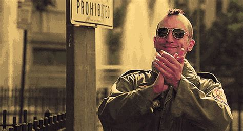 Middle Finger Meme Gif - taxi driver gif find share on giphy