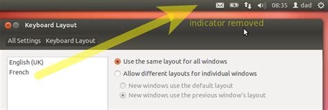 unity keyboard layout indicator unity how to remove keyboard indicator ask ubuntu