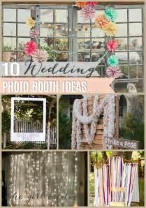 wedding photo booth 10 diy wedding photo booths the creative