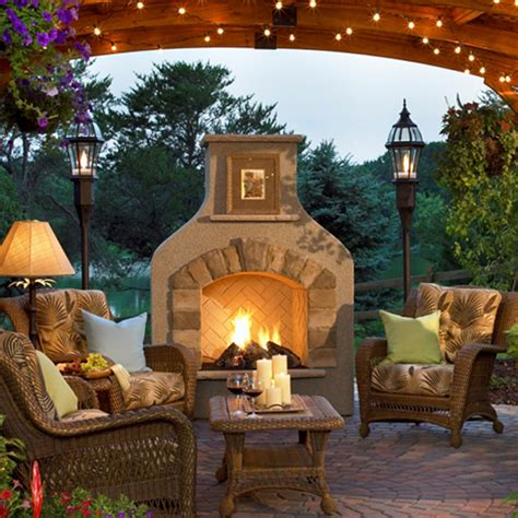 outdoor rooms with fireplaces summer mendez residence pond