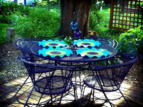 reader re do a colorful patio furniture makeover