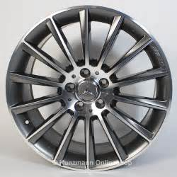 amg 19 inch alloy wheel set mercedes c class w205