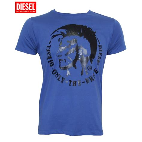 T Shirt Diesel diesel t shirt t morrow blue