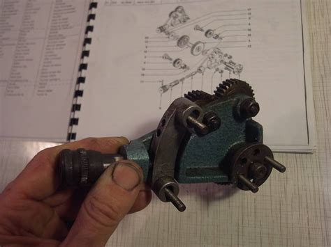 Home Sip emco maximat v10 p parts gear train holder and