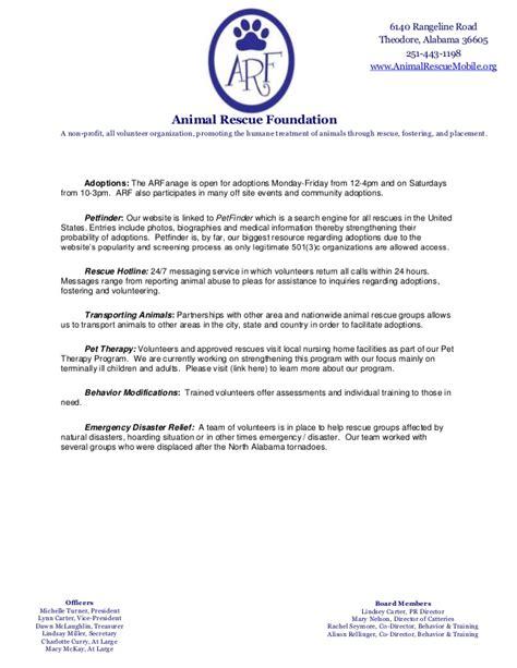 Animal Shelter Volunteer Sle Resume by A Rf Resume