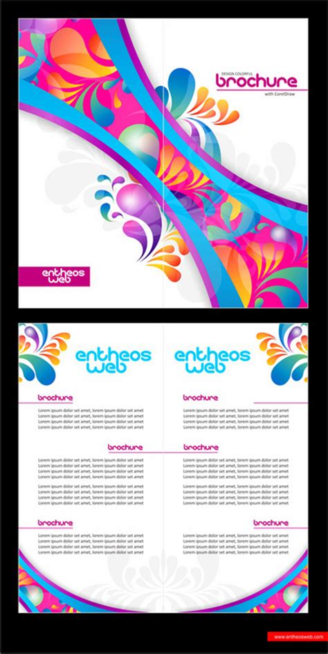 membuat brosur di coreldraw x5 learn to design ayiekdesain