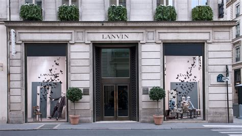 Rue Du Store by The Style Examiner Lanvin Store Windows On Rue Du