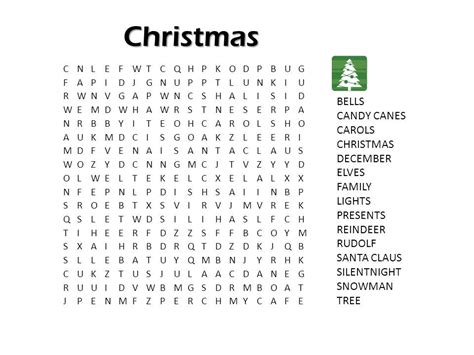 free printable christmas word games puzzles 4 best images of christmas printable puzzle games