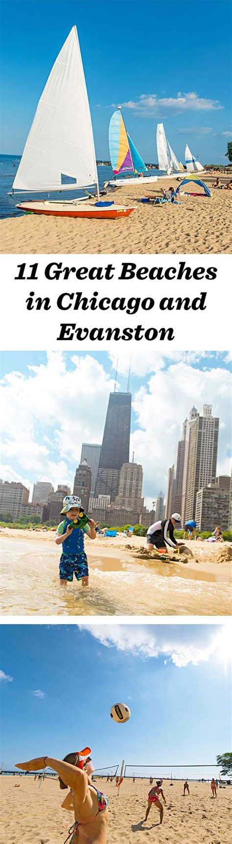 11 great beaches in chicago and evanston illinois travel