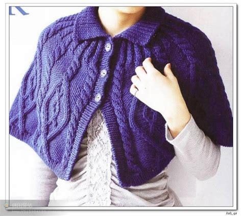como tejer capa para ninas con dos agujas tejidos a dos agujas tricot patrones graficos todo