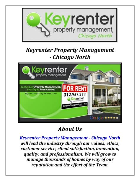 Property Management Companies Keyrenter Property Management Company Chicago
